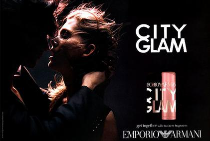 Постер Emporio Armani City Glam for Her