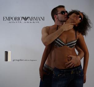 Постер Emporio Armani For Man