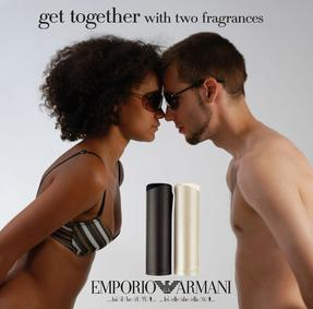 Постер Emporio Armani For Woman