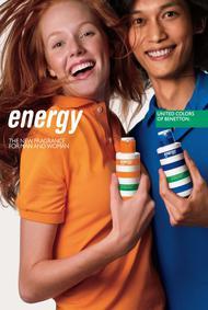 Постер Benetton Energy Man