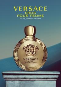 Постер Versace Eros Pour Femme