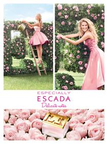 Постер Especially Escada Delicate Notes