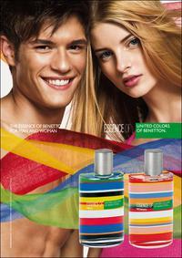 Постер Essence Of United Colors Of Benetton Man