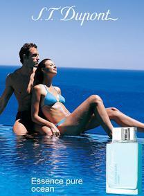 Постер S.T. Dupont Essence Pure Ocean pour Homme