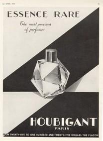 Постер Houbigant Essence Rare