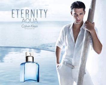 Постер Calvin Klein Eternity for Men Aqua