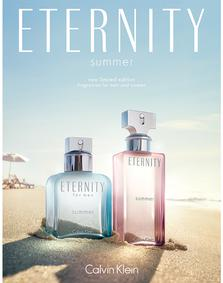 Постер Calvin Klein Eternity Summer 2014
