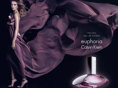 Постер Calvin Klein Euphoria Eau de Toilette