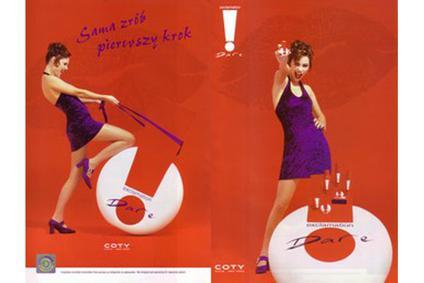 Постер Coty Ex`cla-ma`tion Dare