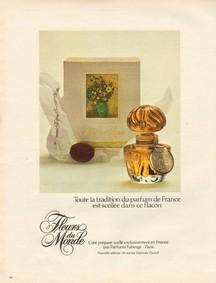 Постер Faberge Fleurs Du Monde