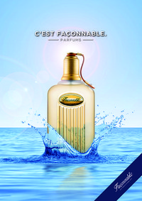 Постер Faconnable Pour Homme