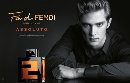 Постер Fan di Fendi Pour Homme Assoluto