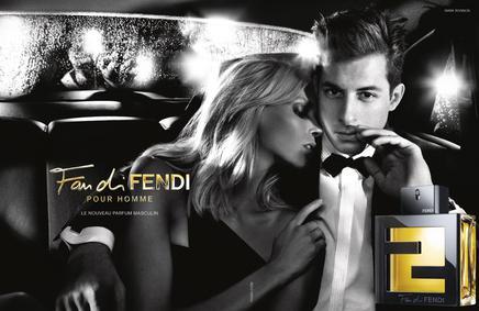 Постер Fan di Fendi pour Homme