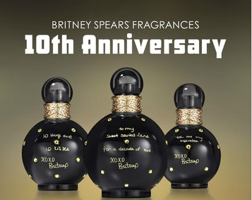 Постер Britney Spears Fantasy Anniversary Edition
