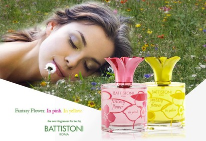 Постер Battistoni Fantasy Flower In Yellow
