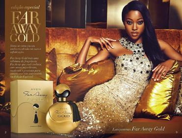 Постер Avon Far Away Gold