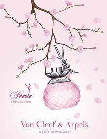 Постер Van Cleef & Arpels Féerie Spring Blossom
