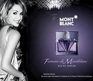 Постер Femme de Montblanc