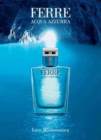 Постер Gianfranco Ferre Ferré Acqua Azzurra