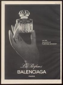 Постер Balenciaga Fleeting Moment La Fuite des Heures