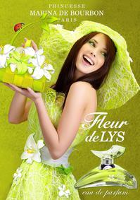 Постер Princesse Marina De Bourbon Fleur De Lys