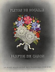 Постер Caron Fleur de Rocaille