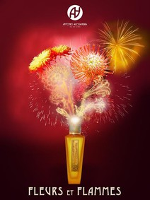 Постер Antonio Alessandria Fleurs et Flammes