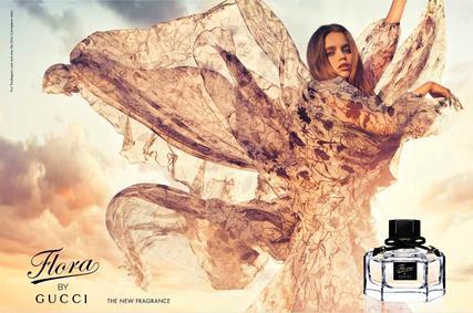 Постер Flora by Gucci Eau de Parfum