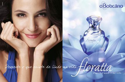 Постер O Boticario Floratta In Blue