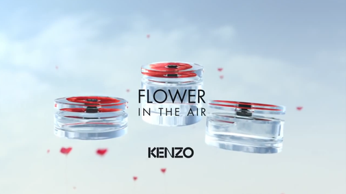 Постер Kenzo Flower In The Air Eau De Toilette