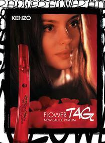 Постер Kenzo Flower Tag Eau de Parfum