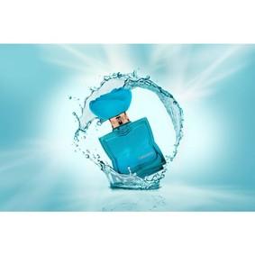 Постер Flower Turquoise