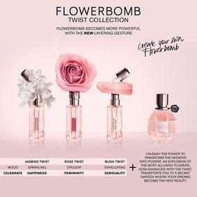 Постер Viktor&Rolf Flowerbomb Jasmine Twist