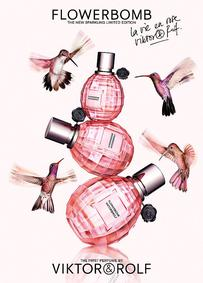 Постер Viktor&Rolf Flowerbomb La Vie En Rose