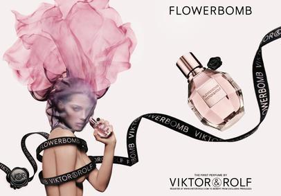 Постер Viktor&Rolf Flowerbomb Love Me Tight