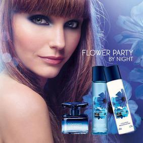 Постер Yves Rocher Flowerparty by Night