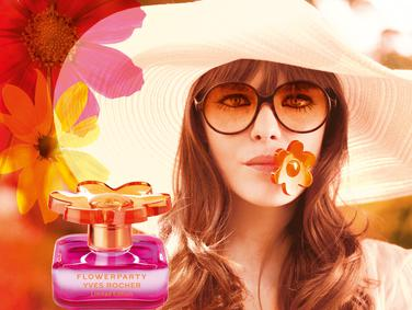 Постер Yves Rocher Flowerparty Limited Edition