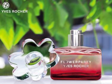 Постер Yves Rocher FlowerParty