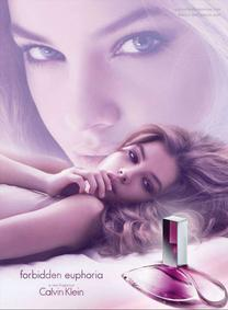 Постер Calvin Klein Forbidden Euphoria