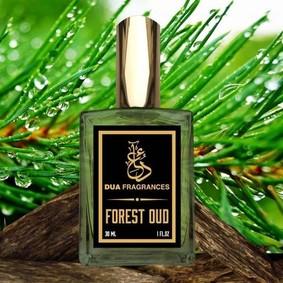 Постер Dua Fragrances Forest Oud