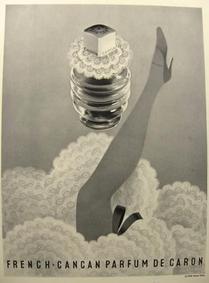 Постер Caron French Cancan