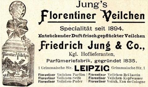 Постер Friedrich Jung & Co Florentiner Veilchen