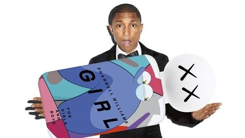 Постер Comme des Garcons Girl Pharrell Williams