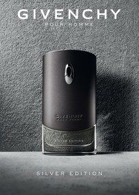 Постер Givenchy Pour Homme Silver Edition