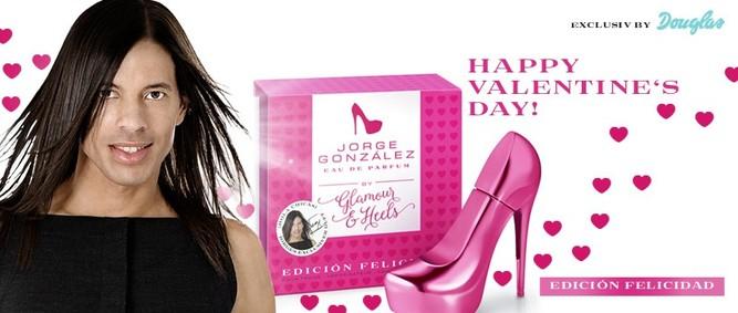 Постер Glamour & Heels Jorge González Edicion Felicidad