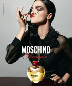 Постер Moschino Glamour