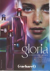 Постер Cacharel Gloria