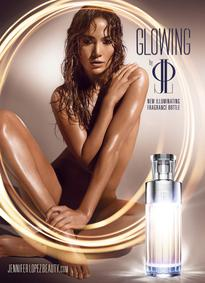 Постер Jennifer Lopez Glowing