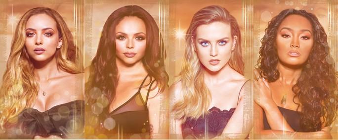 Постер Little Mix Gold Magic