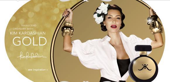 Постер Kim Kardashian Gold